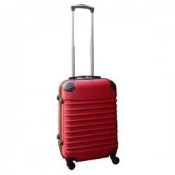 Travelerz handbagage koffer met wielen 39 liter - lichtgewicht - cijferslot - rood