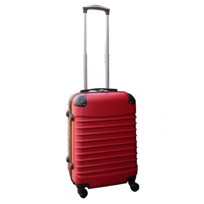 Travelerz kofferset 3 delig met wielen en cijferslot - handbagage koffers - ABS - Rood
