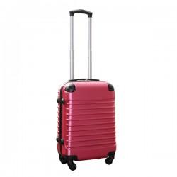 Travelerz handbagage koffer met wielen 39 liter - lichtgewicht - cijferslot - roze