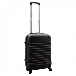 Travelerz handbagage koffer met wielen 39 liter - lichtgewicht - cijferslot - zwart