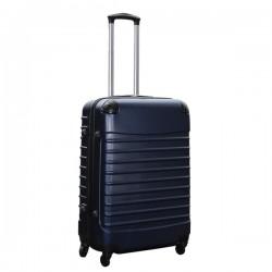 Travelerz reiskoffer met wielen 69 liter - lichtgewicht - cijferslot - donker blauw
