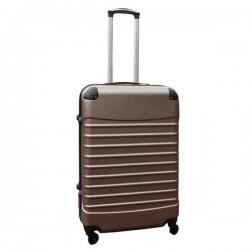 Travelerz reiskoffer met wielen 69 liter - lichtgewicht - cijferslot - champagne