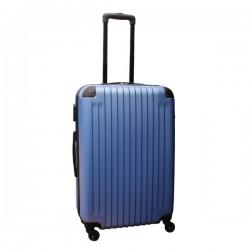 Travelerz lichtgewicht ABS reiskoffer met cijferslot licht blauw 69 liter