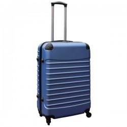 Travelerz reiskoffer met wielen 69 liter - lichtgewicht - cijferslot - licht blauw