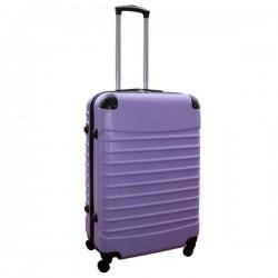 Travelerz reiskoffer met wielen 69 liter - lichtgewicht - cijferslot - lila
