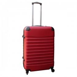 Travelerz reiskoffer met wielen 69 liter - lichtgewicht - cijferslot - rood