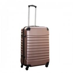 Travelerz reiskoffer met wielen 69 liter - lichtgewicht - cijferslot - rose goud