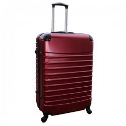 Travelerz reiskoffer met wielen 95 liter - lichtgewicht - cijferslot - bordeauxrood