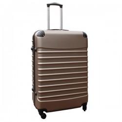 Travelerz reiskoffer met wielen 95 liter - lichtgewicht - cijferslot - champagne