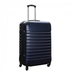 Travelerz reiskoffer met wielen 95 liter - lichtgewicht - cijferslot - donker blauw
