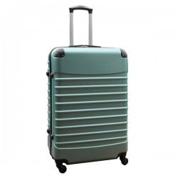 Travelerz reiskoffer met wielen 95 liter - lichtgewicht - cijferslot - groen