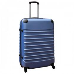 Travelerz reiskoffer met wielen 95 liter - lichtgewicht - cijferslot - licht blauw
