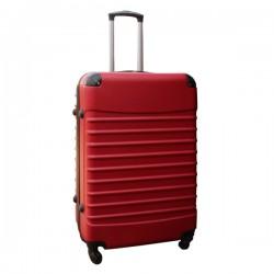 Travelerz reiskoffer met wielen 95 liter - lichtgewicht - cijferslot - rood