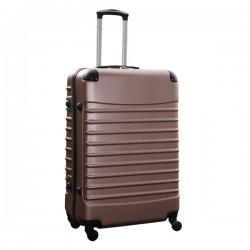 Travelerz reiskoffer met wielen 95 liter - lichtgewicht - cijferslot - rose goud