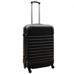 Travelerz reiskoffer met wielen 54 liter - lichtgewicht - cijferslot - zwart