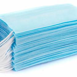 Mondkapjes 50 stuks 3 laags mondmasker met CE certificatie