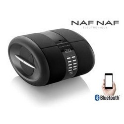 NAF NAF DNI068BLA Portable Bluetooth radio  CD-speler met MP3 & USB
