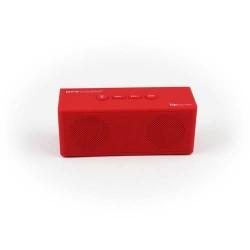 Pure Acoustics Hipbox Mini RED Portable bluetooth speaker met FM radio