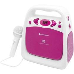 Soundmaster KCD50PI Draagbare Sing a Long CD/USB speler met radio
