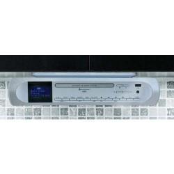 Soundmaster UR2170SI Keuken onderbouw muziekcenter met  DAB+/ FM  USB  CD