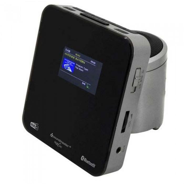 Soundmaster UR260SI Wekkerradio DAB+/FM met Bluetooth en kleuren display
