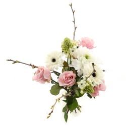 DeBlock Touchy boeket roze - 60 cm