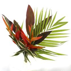 DeBlock Tropical Delight exotisch boeket - 60 cm