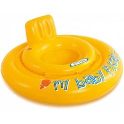 baby zwemzitje geel 70 cm