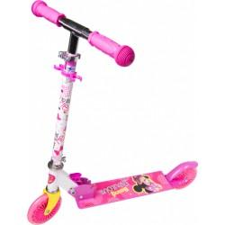 2-wiel kinderstep Minnie Mouse meisjes aluminium roze