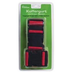 kofferriemen 190 cm rood 2 stuks