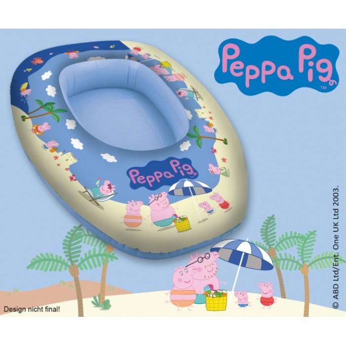 opblaasboot Peppa Pig 80 x 54 cm blauw