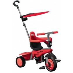 3-in-1-driewieler Carnival Junior Zwart/Grijs