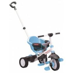 3-in-1-driewieler Charm Junior Blauw/Wit