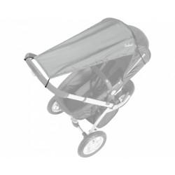 Playshoes Zonnedoek UV-protectie kinderwagen grijs