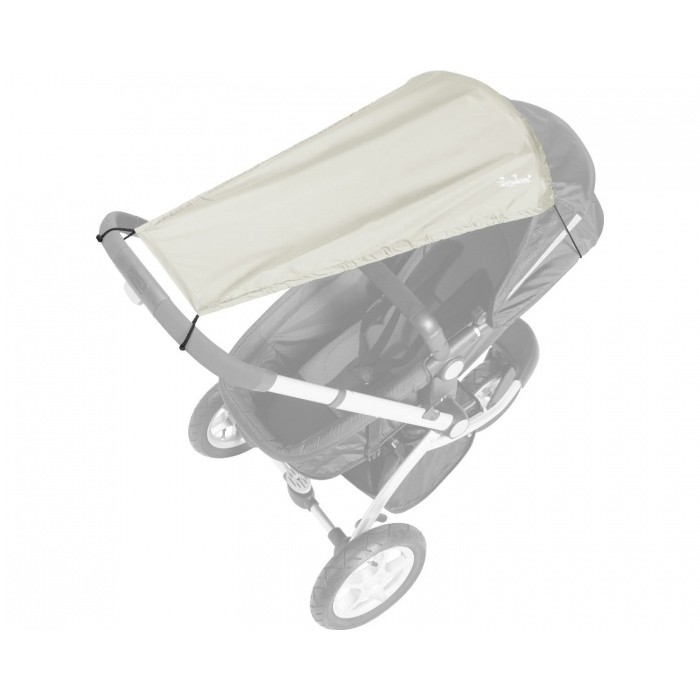Playshoes Zonnedoek UV-protectie kinderwagen beige