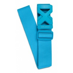 bagageriem 190 x 5 cm blauw