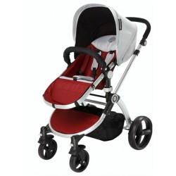 Infantastic kinderwagen Blush 2-in-1 inclusief reiswieg rood