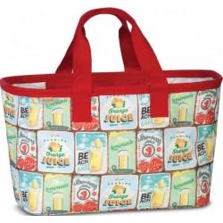 shopper Easy 30 liter rood polyester