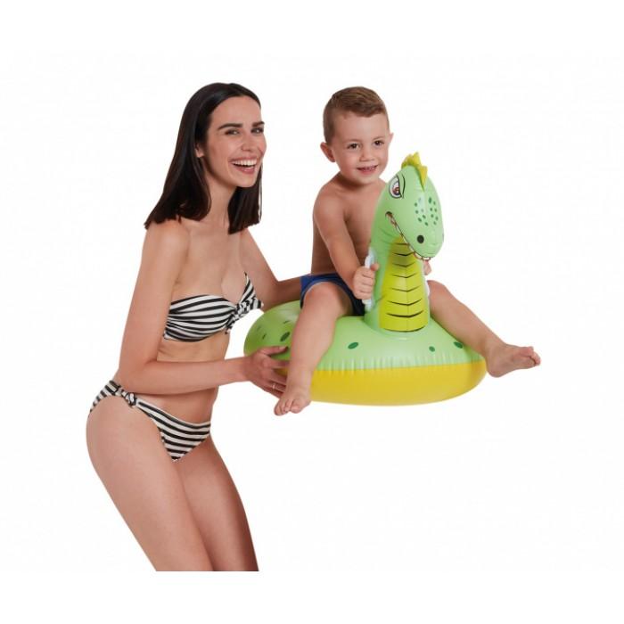 opblaasdier Dino 93 cm groen