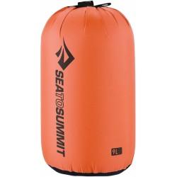 Stuff Sack M nylon 9 liter oranje