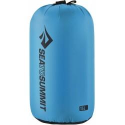 Stuff Sack L nylon 15 liter blauw