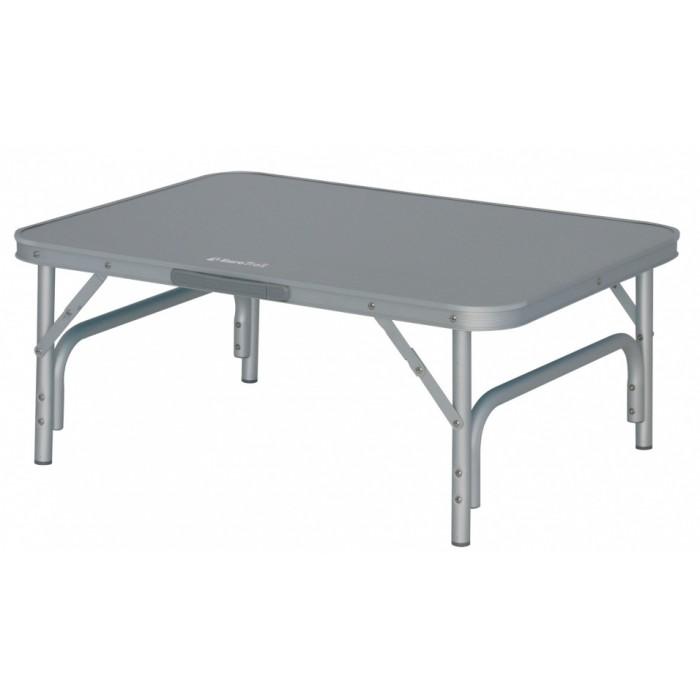 campingtafel Avignon 80 x 60 x 68 cm aluminium grijs