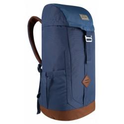 backpack Stamford 25 liter polyester donkerblauw/bruin