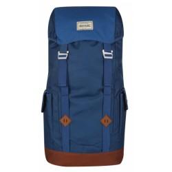 backpack Stamford 30 liter polyester blauw/bruin
