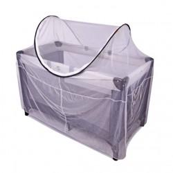Deryan campingbed Muggen Protector 120 cm wit
