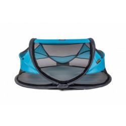 Deryan reisbed Baby Luxe 2021 120 cm polyester blauw