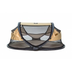 Deryan reisbed Baby Luxe 2021 120 cm polyester goud