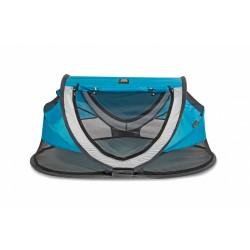 Deryan reisbed Peuter Luxe 2021 136 cm polyester blauw