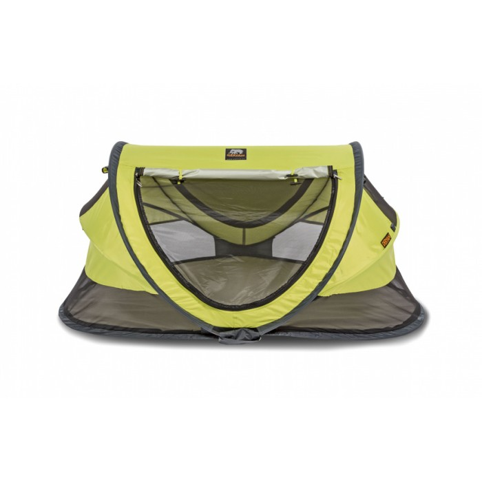 Deryan reisbed Peuter Luxe 2021 136 cm polyester lime