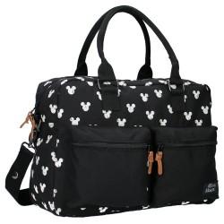 Disney luiertas Mickey Mouse 16 liter polyester zwart/wit